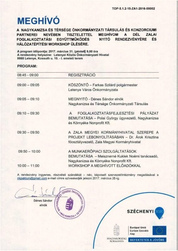 Meghívó_Projekt nyitó rendezvény_Letenye1